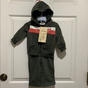 Carter's Baby Boy 2pc. Hoodie and Pants